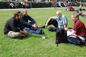 Wikipedianer i gröngräset