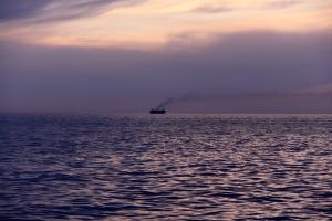 Ensamt skepp