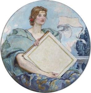 Kunskapen porträtterades av Robert Lewis Reid som en kvinna.