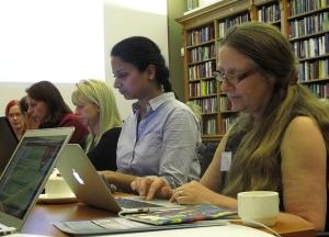Skrivstuga på Ada Lovelace-dagen i Storbritannien, Daria Cybulska (WMUK), CC-BY-SA 3.0