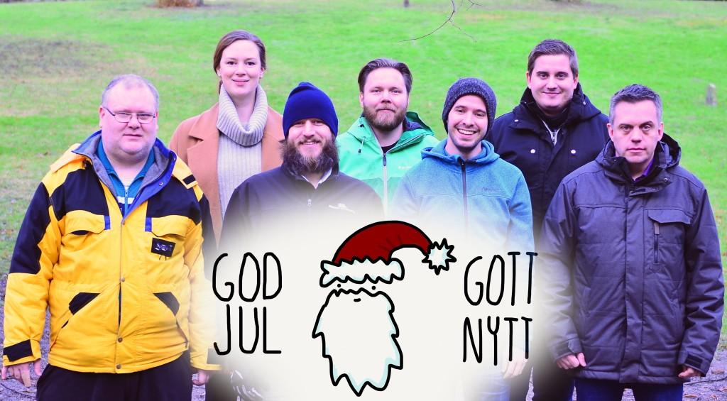 God jul önskar kansliet.
