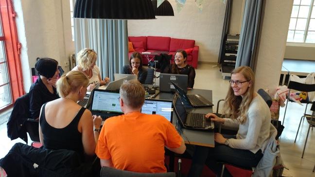 Skrivstuga i Göteborg i juni 2014, Lennart Guldbrandsson, public domain