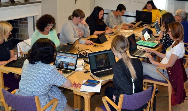 Brittiskt initiativ ska ge fler kvinnor pa wikipedia